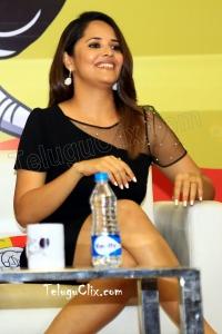 Anasuya HD at CMR College Meeku Mathrame Cheptha