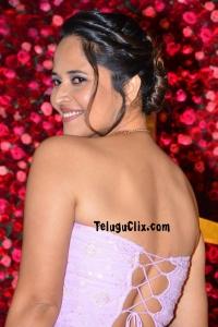Anasuya at Zee Cine Awards Telugu 2020
