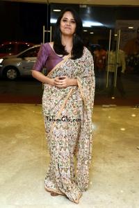 Anasuya Bharadwaj Saree Photos