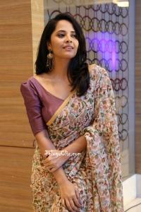 Anasuya Bharadwaj Saree Photos HQ