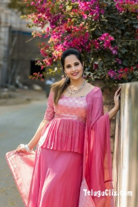 Telugu TV Anchor Anasuya HD
