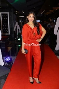 Andrea Jeremiah at Avengers Premiere