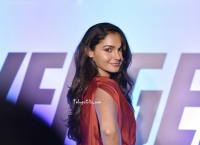 Andrea Jeremiah at Avengers Premiere HQ