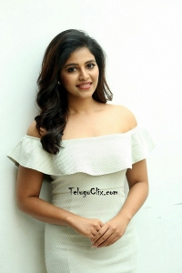 Anjali in White Dress