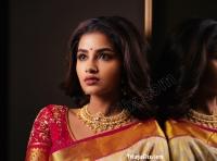 Anupama Parameswaran in Saree UHD