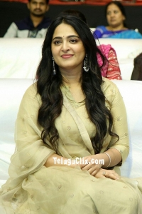 Anushka Shetty at Nishabdham movie Pre Release