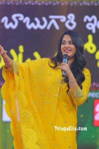 Anushka Shetty at Zee telugu Ugadi 2020 event