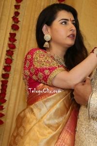 Archana Shastry in Saree Pics