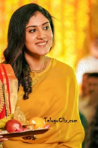 Dhanya Balakrishna HD in Saree