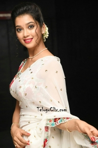 Digangana Suryavanshi in White Saree Photos