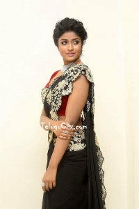 Dimple Hayati in Black Saree HD Photos