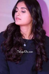 Divyansha Kaushik in Black Dress