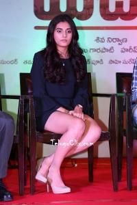 Divyansha Kaushik at Majili Success Meet