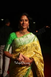 Easwari Rao HD in Saree at Siima Awards 2019