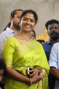Easwari Rao in Saree