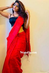Eesha Rebba in Saree