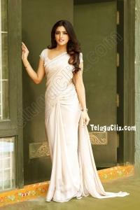 Eesha Rebba in Saree HD Photos