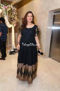 Geetha Madhuri in Black