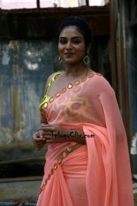 indhuja in Saree HD Photos