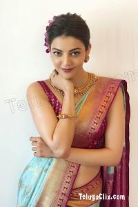 Kajal Aggarwal HD in Saree Photoshoot