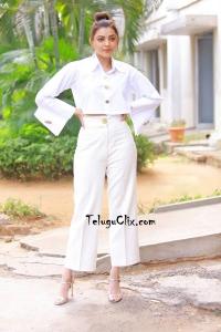 Kajal Aggarwal in White Dress