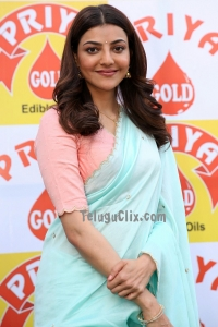 Kajal Aggarwal in Saree HD Photos