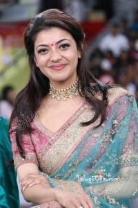 Kajal Aggarwal in Saree HD Pics