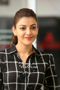 Kajal Aggarwal at Sita interview