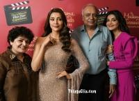 Kajal Aggarwal Famil HD Madame Tussauds Singapore