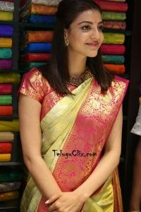 Kajal in Saree HD Pics