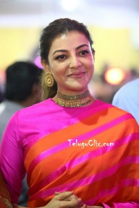 Kajal in Saree HQ Pics