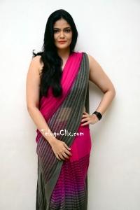 Kalpika Ganesh in Saree HQ Photos