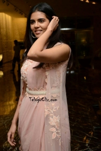 Kalyani Priyadarshan at Ranarangam Pre Release