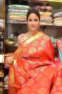 Lavanya Tripathi in Saree Photos HD