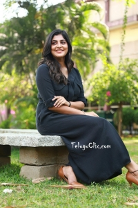 Manjima Mohan in Black Dress HQ