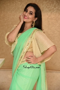 Manjusha Saree Stills