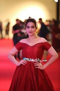 Manjusha HD at Siima Awards 2019 Red Carpet