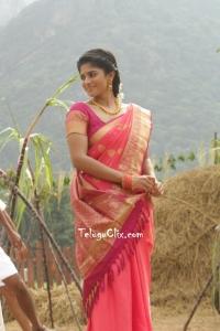 Megha Akash in Saree