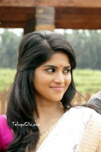 Megha Akash HD in Saree
