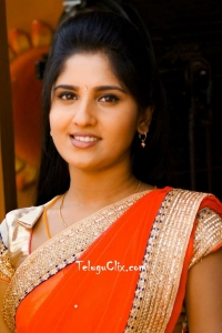 Meghana Lokesh in Saree