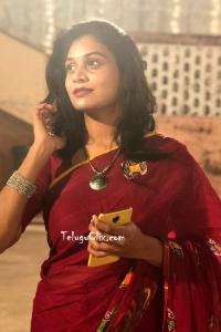 Singer Mohana Bhogaraju in Saree HQ