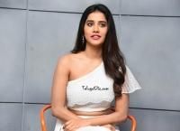Nabha Natesh at ismart shankar interview