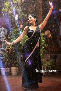 Nabha Natesh HD in Saree Disco Raja