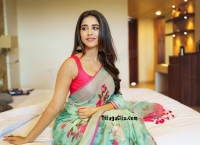 Nabha Natesh HD in Saree
