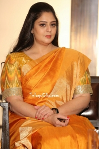 Nagma in Saree