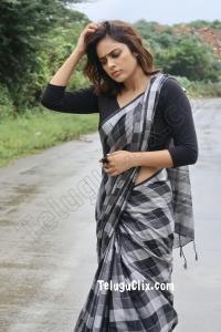 Nandita Swetha in Saree HD