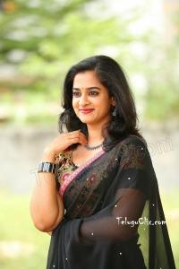 Nanditha Raj in Black Saree HD