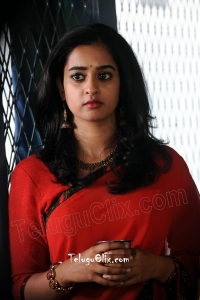 Nanditha Raj in Saree HD Vishwamitra