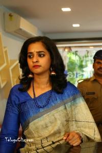 Nanditha Raj in Saree HD