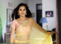Neha Krishna in Saree HD Photos